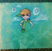 Toon Link by Morna