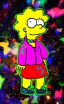 Lisa in Technicolor by TheSimpsonsFanGirl