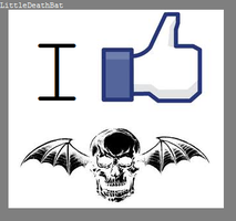 I Like A7X by LittleDeathBat