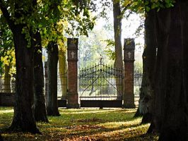 Gate by PhotoImageMan