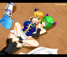 Fairy Tail 467- Brandish Attack by sharknex
