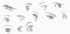 Anime Eyes by hExIdEvIaNt