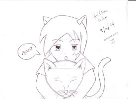 neko and me by inupuppy1412