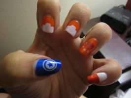 Tails Nails by Sakura-Courage-Solo
