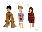 Team Free Will De-Aged by preciouslittleshit