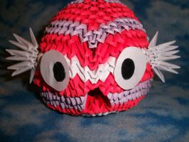 3D Origami Koi Fish by Rescue-Is-Possible