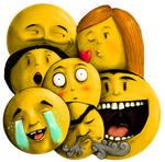 Emoticons by bozwolfbros