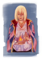 Howl Speedpaint by Ode-Chan