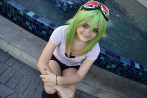 Gumi Megpoid Cosplay by GeekWonderland