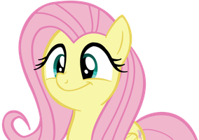 Cute Fluttershy Vector by X-BlackPearl-X