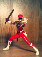 ULTIMATEfiguarts - Jason The ARMORED Red Ranger by ULTIMATEbudokai3
