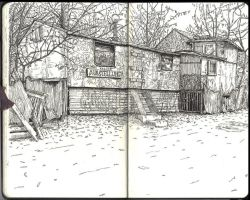 Sketchbook - First open air drawing of the year by keiross