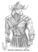 Generic Minotaur by JakkalWolf