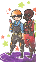 TF2 - Ice cream time ! by akkame
