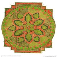 Holly Hopes Mandala by Quaddles-Roost