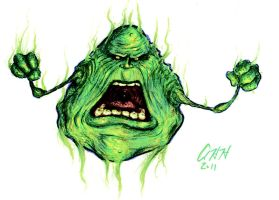 Angry Slimer finished by gomezvsrufio