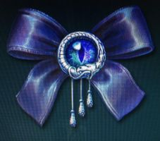 Gothic ribbon by isaac77598