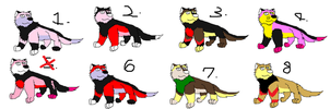 10 point Waruto adoptables CLO by lltmss