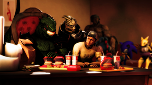 Lunchtime by Robogineer