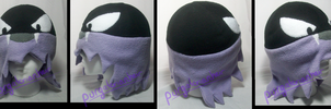 Pokemon Fleece Hat: Gastly by PurgatorianHeir