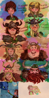 HTTYD Dump by YellowWatermelon