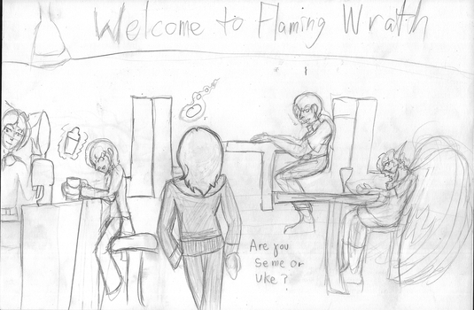 Flaming Wrath - Intro Scene by Cians-Sacred-Lair
