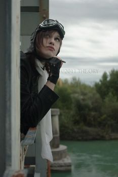 STEAMPUNK_The Aviator_Searching the Sky by TheOuroboros