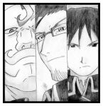 Armstrong, Hughes and Mustang by KuroHane