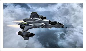 YSS-1000 Sabre Starfighter by NitzkaPhotography