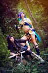 Tales of Vesperia - Yuri Lowell and Judith by Calssara