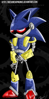 Mecha Sonic by RockinChipmunks
