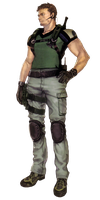 Chris Redfield-RE5 Concept PNG 1 by Isobel-Theroux