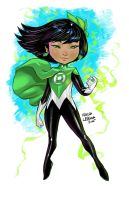 Green Lantern Lotus by Marcusthevisual