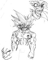 jams goku by jamce