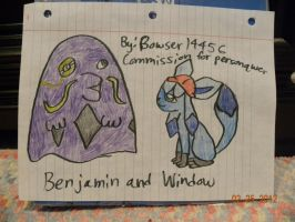 COM: Window and Benjamin by Bowser14456