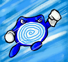 ANPAD poliwhirl : learning to fight by k-hots