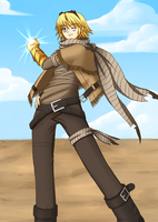 Wasteland Ezreal - REDRAWN by melsubayai