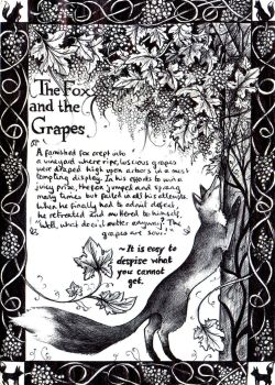 The fox and the Grapes by aofie-fionn