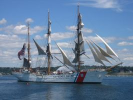 Tall Ships -USCG Eagle by Aeltari
