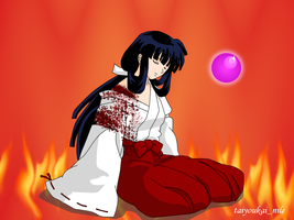 Kikyo- Acceptance of Fate by blondishnet