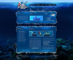 Diving website v2 by wilhelm1989