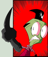 Invader Zim Says...... by Natty354