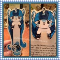 Snowsilk bookmark by BubblegumBloo