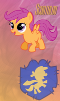 Scootaloo Win7 Phone BG by TecknoJock