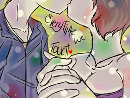 .::Everytime We Touch::. by Scoric