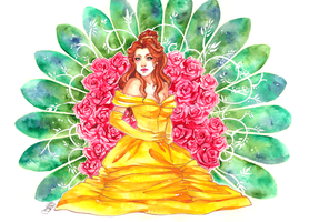 Disney Princesses: Belle by utenaxchan
