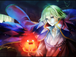 LP - Howl's Moving Castle by Yoshino78