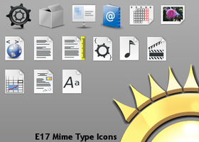 E17 Mime Type Icons by lpetkov
