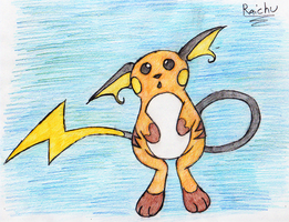 26 - Raichu by JacobMace