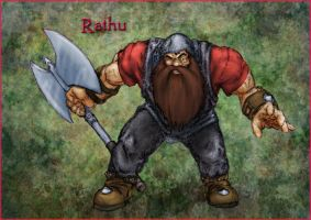Rathu the Barbarian by Omega9000